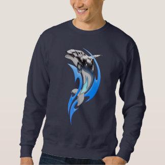 Tribal Orca Dark Sweatshirt