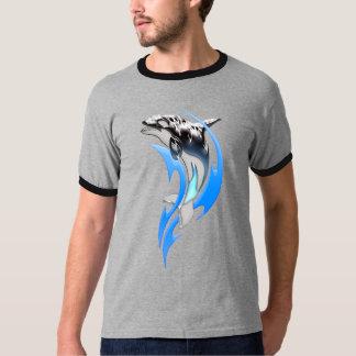 Tribal Orca Ringer T-Shirt