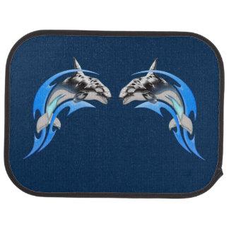 Tribal Orcas Rear Car Mat