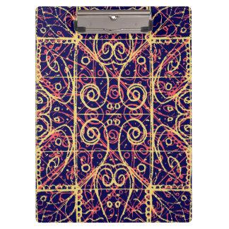 Tribal Ornate Pattern Clipboard