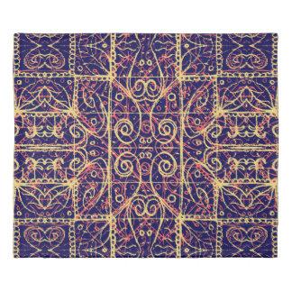 Tribal Ornate Pattern Duvet Cover