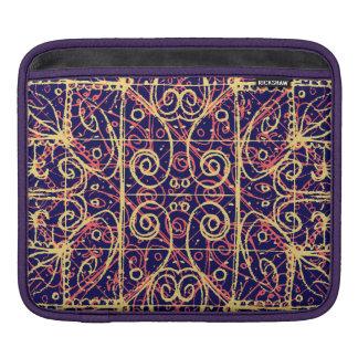 Tribal Ornate Pattern iPad Sleeve