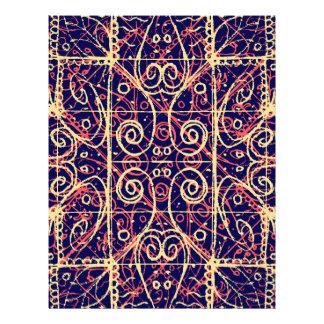 Tribal Ornate Pattern Letterhead