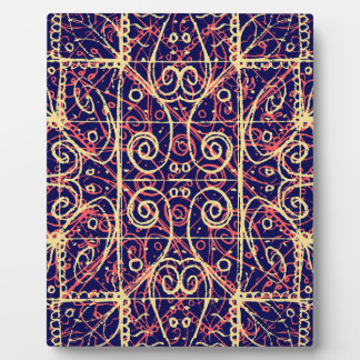 Tribal Ornate Pattern Plaque