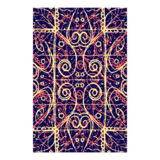 Tribal Ornate Pattern Stationery