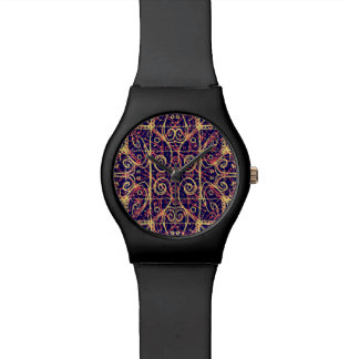 Tribal Ornate Pattern Watch