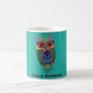 Tribal Owl Coffee Mug
