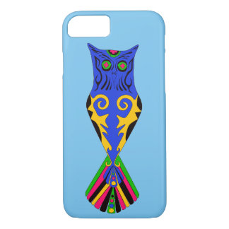 TRIBAL OWL TATTOO DESIGN FOR CELL PHONE CASE/COVER iPhone 8/7 CASE