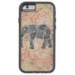 Tribal Paisley Elephant Colourful Henna Pattern Tough Xtreme iPhone 6 Case