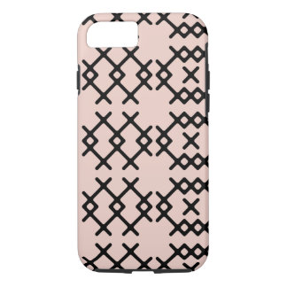 Tribal Pale Dogwood Pink Nomad Geometric Shapes iPhone 8/7 Case