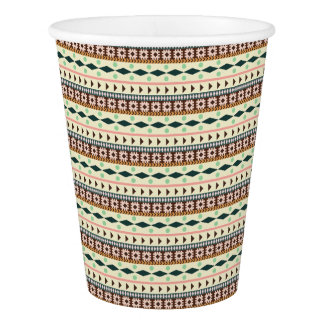 Tribal Paper Cup