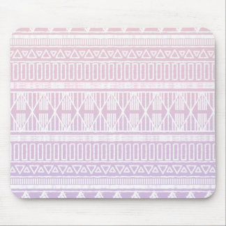 Tribal Pastel Pink Purple Mouse Pad