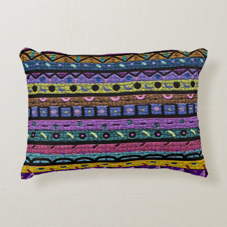Tribal Pattern Accent Pillow