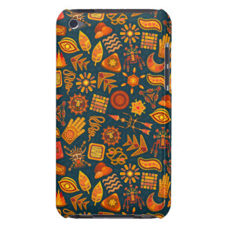 Tribal Pattern Barely There iPod Cases