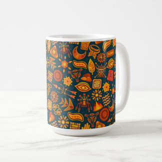 Tribal Pattern Coffee Mug