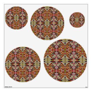 Tribal Pattern Desert Dwellers Wall Sticker