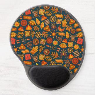 Tribal Pattern Gel Mouse Pad