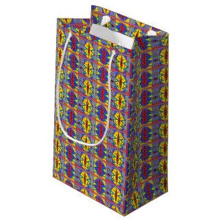 tribal pattern gift bag