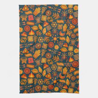 Tribal Pattern Kitchen Towel
