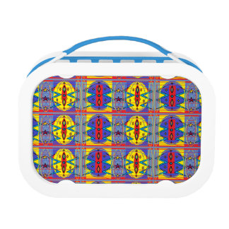 tribal pattern lunch box