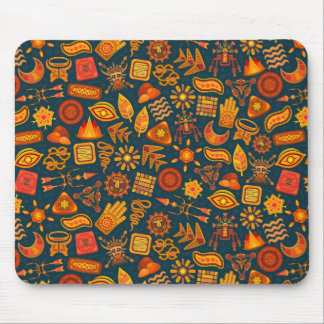 Tribal Pattern Mouse Pad
