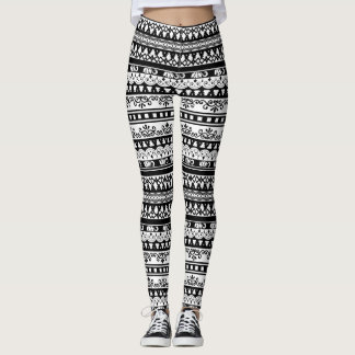 Tribal Pattern Paradise Leggings