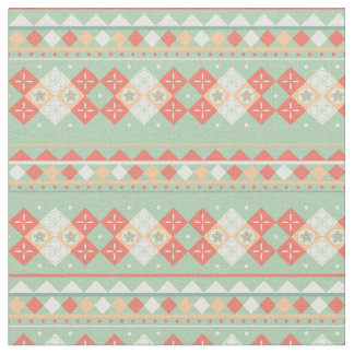 Tribal Pattern, Southwest Colors Fabric