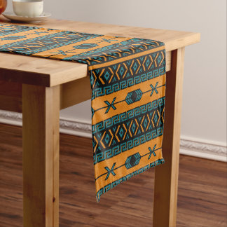 Tribal Pattern Southwest Design Short Table Runner