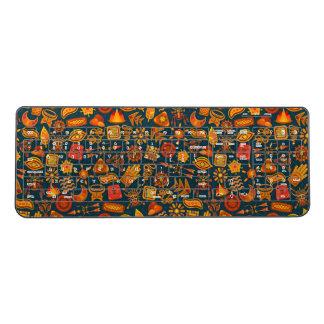 Tribal Pattern Wireless Keyboard
