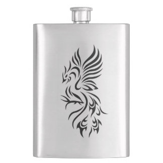Tribal Phoenix Classic Flask