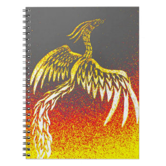 Tribal Phoenix Notebook