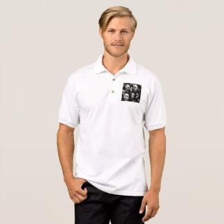 tribal polo shirt