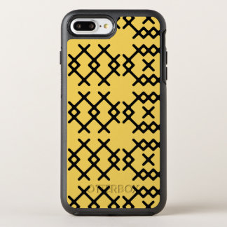 Tribal Primrose Yellow Nomad Geometric Shapes OtterBox Symmetry iPhone 8 Plus/7 Plus Case