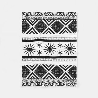 Tribal Print Design Fleece Blanket