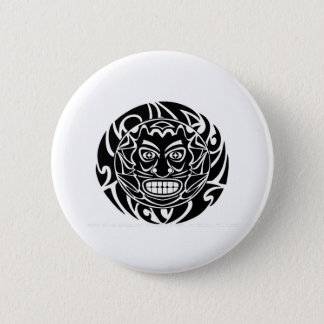 Tribal Protector 2 Inch Round Button