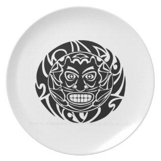Tribal Protector Plate