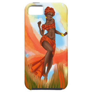 Tribal Radiance (africa theme) iPhone 5 Cover