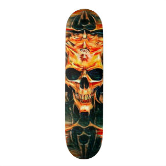 Tribal Reaper Element Custom Pro Park Board Custom Skate Board