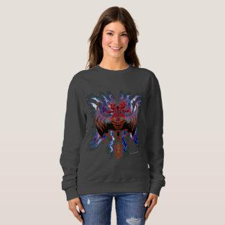 Tribal Red Dragon Ladies Sweatshirt