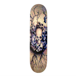 Tribal Roots Skulls Element Custom Pro Board Skateboard