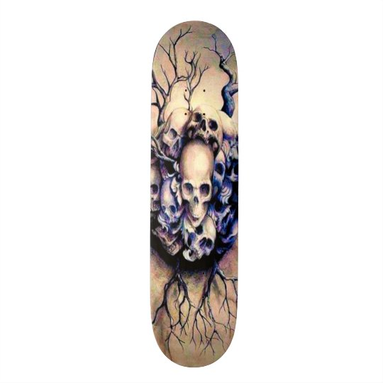 Tribal Roots Skulls Element Custom Pro Board Skateboard Deck