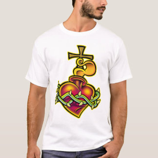 Tribal Sacred Heart T-Shirt