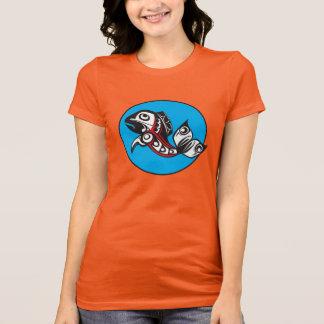 Tribal Salmon T-Shirt
