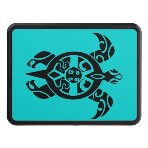 Tribal Sea Turtle Hitch Covers