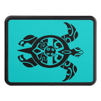 Tribal Sea Turtle Trailer Hitch Cover