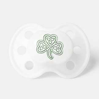 tribal shamrock pacifier