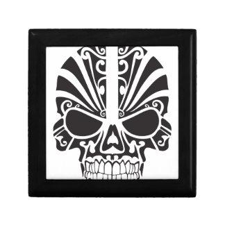 Tribal skull design gift box