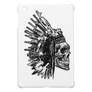 Tribal Skull, Guns and Knives Ipad Case