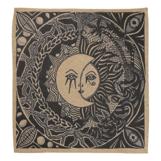 Tribal Sky Tarot Cloth Bandana