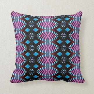 Tribal Spheres Throw Pillow